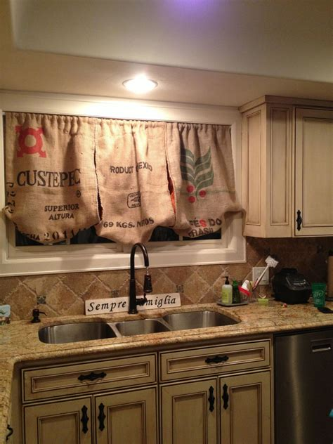 country kitchen curtains ideas burlap kitchen curtains diy curtain menzilperde net