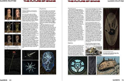 magazine layout internships final magazine gamex game magazine blog