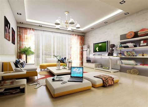 3d interior living 3d house