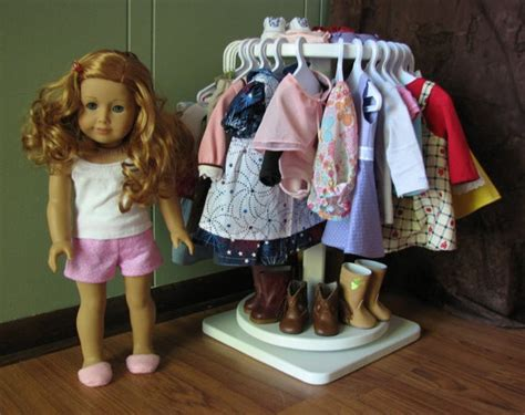 Closet For American Doll Clothes by Doll Closet Idea American Doll Patterns And Ideas
