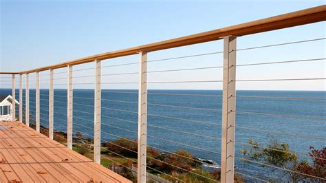 Wire Banister by Stainless Cable Fencing San Diego Cable Railings