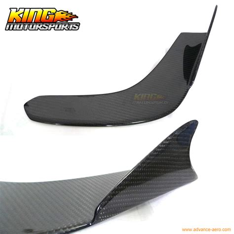 Winglet Diffuser Universal Original aliexpress buy universal carbon fiber winglet type 1 lip splitter diffuser from reliable
