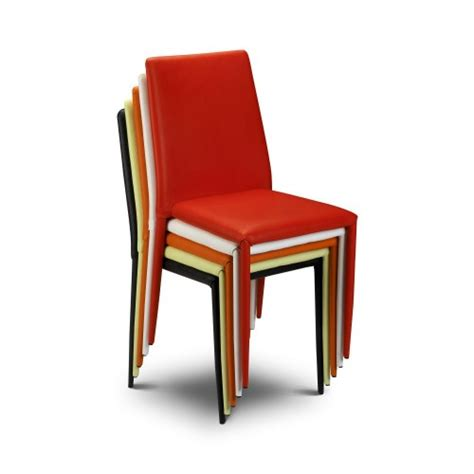 multi coloured dining chairs jazz dining chair pair