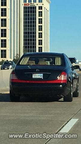 Maybach Dallas by Mercedes Maybach Spotted In Dallas On 01 13 2016