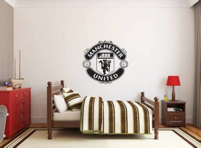 manchester united wall stickers united fan wall decal vinyl wall sticker in dublin 1 dublin from deco