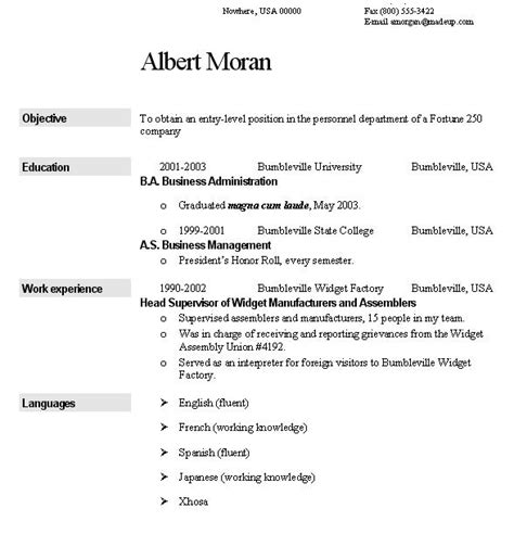 Gas Turbine Operator Sle Resume by Stron Biz Resume Sle