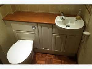 built in bathroom sink units vanity toilet and sink units cloakroom suite white small