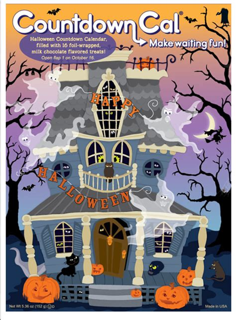 Creative Grandma Giveaway - halloween countdown calendar giveaway grandma ideas