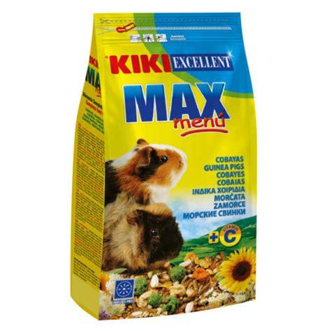 alimento para cobayas alimento para cobayas kiki max men 218 tiendanimal