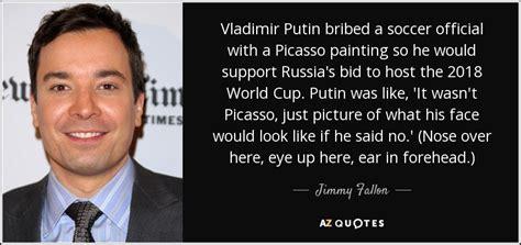 Vladimir Putin Quotes Jimmy Fallon