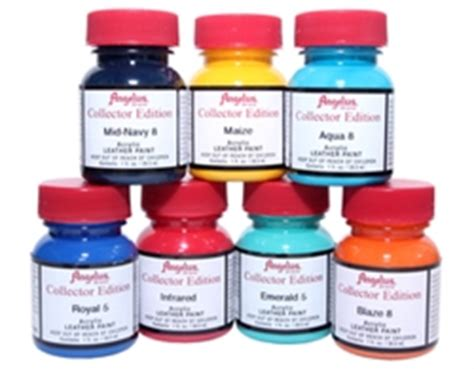 angelus paint alternatives angelus acrylic leather paint collector edition