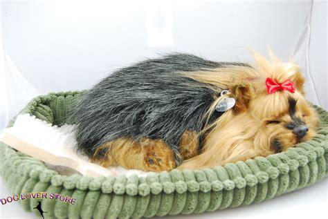 petzzz yorkie yorkie like stuffed animal breathing petzzz ebay
