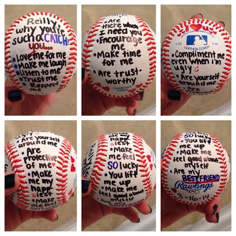 gift for baseball player boyfriend stuff pinterest