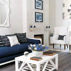 Navy And White Chair Design Ideas Navy Blue And White Living Room Design New Design Room Ideas Housetohome Co Uk