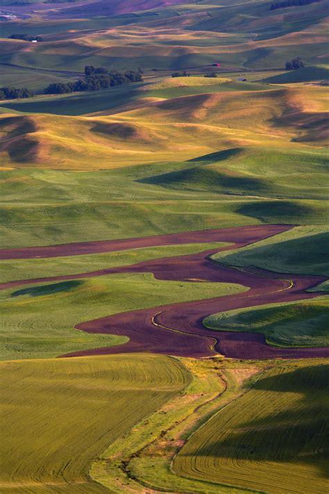 Landscape Rock Yakima Palouse By Mike Dawson