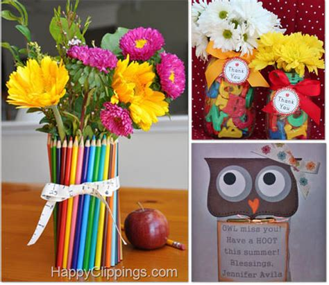 Handmade Gift Ideas For Teachers - 34 end of year activities gifts and printables tip junkie
