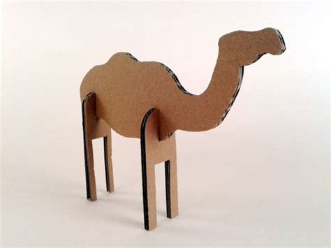 How To Make A Camel Out Of Paper - wielblond z kartonu 4 zabawki karton tektura