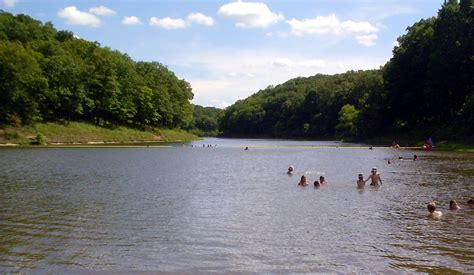 lakes in lincoln about cuivre river state park