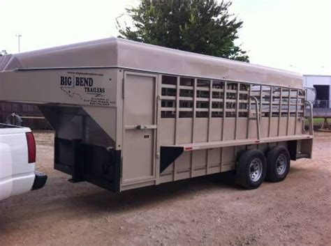Sale Box Hitam X6 2014 big bend 18 x6 8 quot ranch trailer for sale with saddle box for more information click on