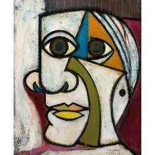 pablo picasso cubist faces cubism on maar pastels and portraits