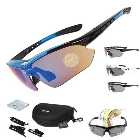 rockbros polarized cycling glasses eyewear bike goggles