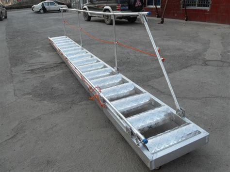 boat emergency ladder aluminum alloy steel marine boarding ladder strong bearing