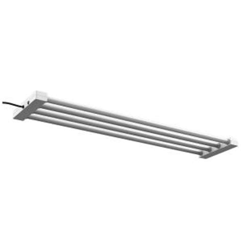 feit electric 4 ft 4 light white led utility shop light