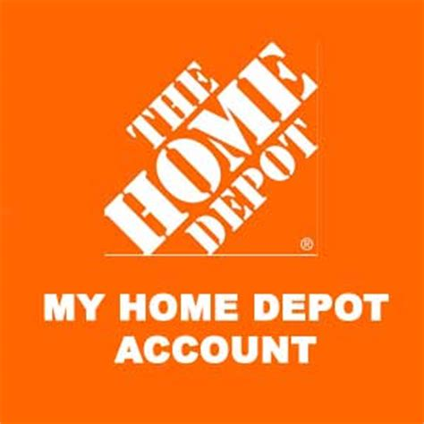 m home depot account