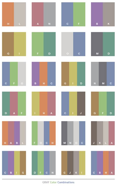 gray tone color schemes color combinations color