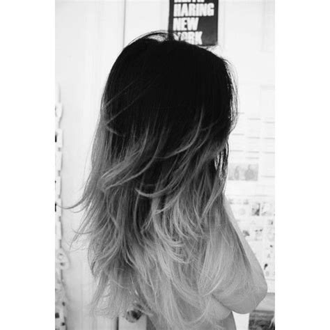 black and white hair color black to gray to white ombre hair www pixshark com