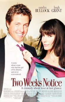 hugh grant production company two weeks notice wikipedia
