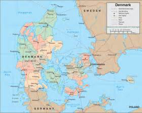 World Map Denmark by Map Of Denmark Denmark Travel Map Denmark Political Map