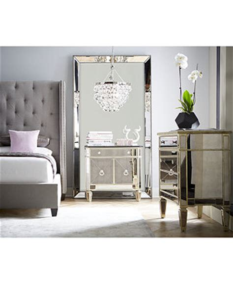 Macys Mirrored Furniture by Marais Mirrored Furniture Collection Furniture Macy S