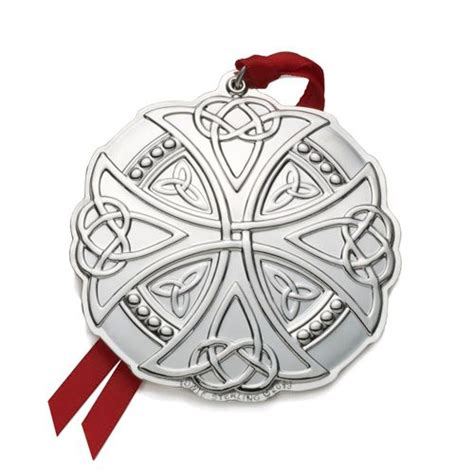 2013 towle celtic silver christmas ornament silver