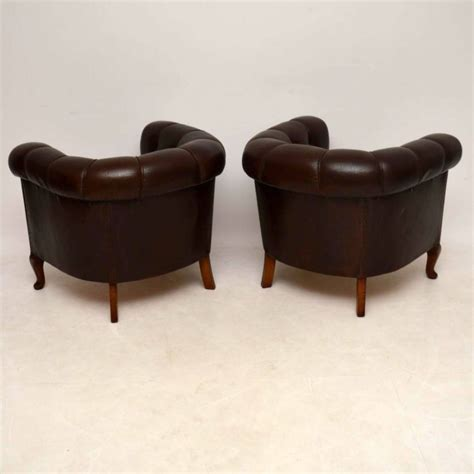 antique leather armchairs pair of antique swedish leather armchairs interior