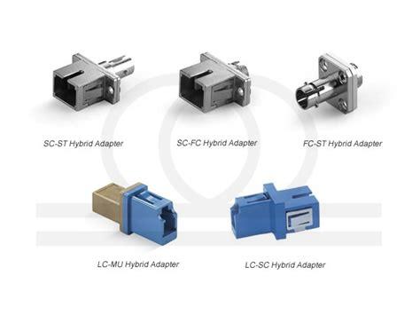 Patchord Fc Lc Sc To Fc Lc Sc Upc Sx Sm 15 Mtr 1 adaptery światłowodowe hybrydowe st sc sc fc fc st lc mu lc sc pc i apc