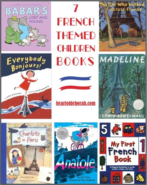 childrens french book my 7 children s french books heart of deborah