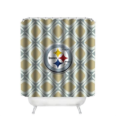 steeler shower curtain pittsburgh steelers valance steelers valance steelers