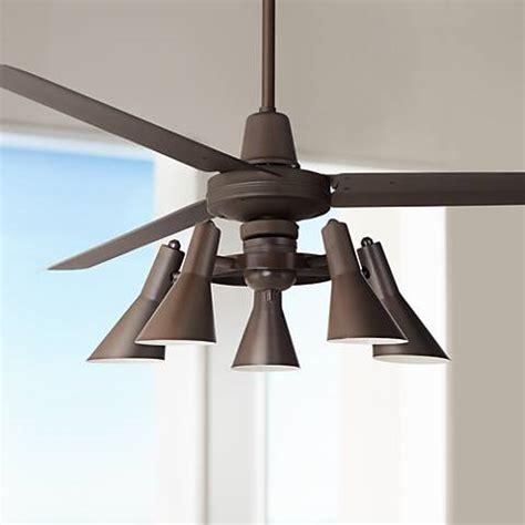 60 quot casa vieja turbina rubbed bronze ceiling fan