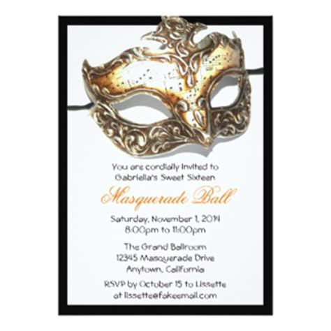 sweet sixteen masquerade ball gifts on zazzle
