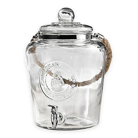 Dispenser Sanken 2 Galon caribbean joe 2 2 gallon glass beverage dispenser with rope handle bed bath beyond