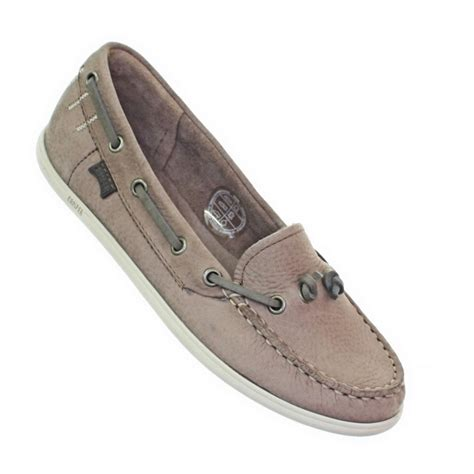 boat shoe loafers womens cer south leather deck boat shoes loafers
