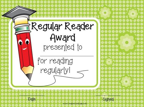 template for reading award certificate free editable reading certificate templates instant download
