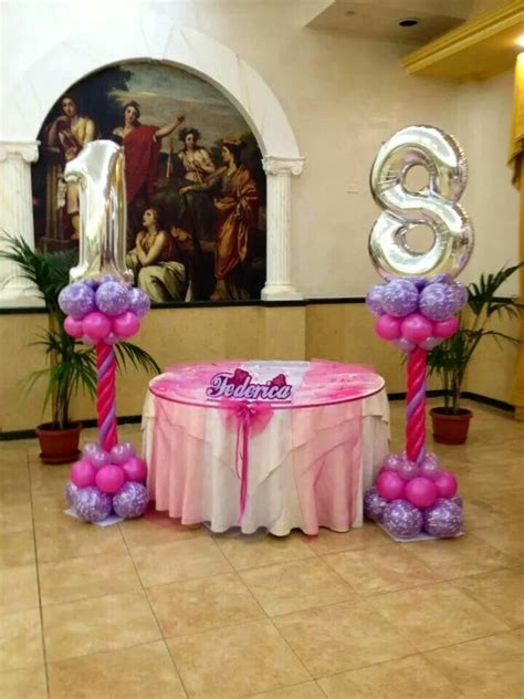 18th birthday centerpiece ideas 1000 images about balloon numbers on new year
