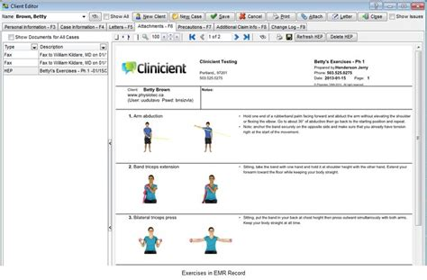 Fitness Software 5 by Physical Therapy Exercises Physical Therapy Home Exercise