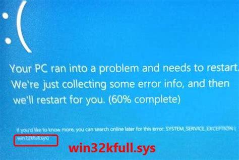 [solved] win32kfull.sys blue screen error driver easy