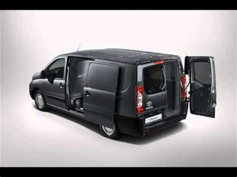 2013 toyota proace lcv based off of peugeot expert and