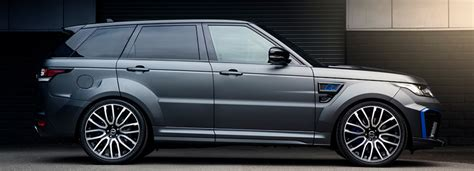 project kahn's range rover sport SVR pace suited for luxury performance