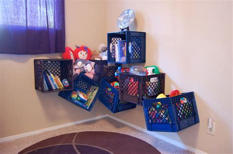 toy storage ideas being frugal sally milk crate toy storage