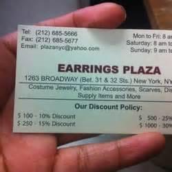 1 State Plaza 32nd Floor New York Ny 10004 - earrings plaza 13 photos jewelry koreatown new